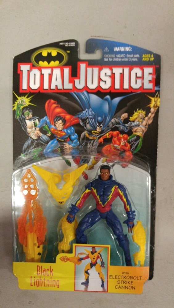 Kenner Total Justice Black lightning 1997