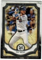Kris Bryant CHICAGO CUBS 2018 TOPPS MUSEUM COLLECTION Card #2