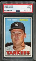 1967 Topps #289 Tom Tresh YANKEES PSA 9