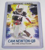 Cam Newton Rookie 2011 Sage Hit Big Time Bt23