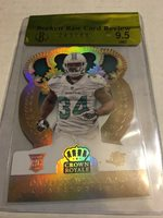 Damien Williams 2014 Crown Royale Gold Die-Cut RC 22/25 BGS Raw 9.5 Dolphins