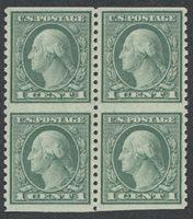 United StatesScott #538a (2017 Scott Value $275.00), Unused, NH, VF. 1c Washington (#538a) imperf horizontal blk4.Stamp #23654 | Price: $190.00Add To Cart