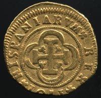 Spain 1701 SA; Gold 2 Escudos; Grade VF
