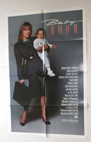 BABY BOOM vintage 1987 movie poster DIANE KEATON one sheet Sam Shepard