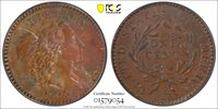 OGH 1794 Large Cent, Under-graded 1794 Liberty Cap Large Cent, PCGS Old Green Early Generation Holder, XF-45 A More accurate grade by today's standards would be AU-53-55.