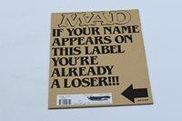 MAD MAGAZINE #304 JULY 1991 MADONNA EDWARD SCISSORHANDS WITH MAILER