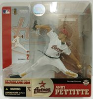 MLB Sports Picks Series 10, Andy Pettitte Action Figure. Astros (4C)