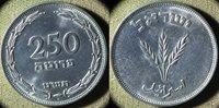 Israel : JE5709/(1949)H 250 Pruta Gem BU #15a IR4938