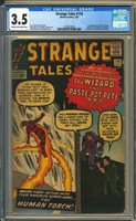 Strange Tales 110 CGC 3.5 1st app of Doctor Strange! WORLDWIDE SHIPPING!