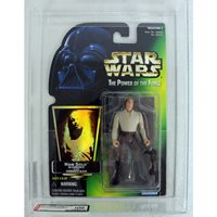 ***Power of the Force 2 Green Card Han Carbonite C9 AFA U90 NM+/MT (C90 B90 F90) #13279662***