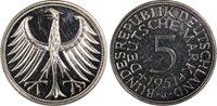 West Germany 5 Mark Silver 1951-J (Hamburg)
