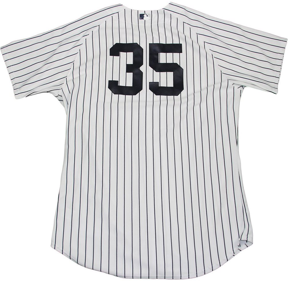 Michael Pineda Jersey - NY Yankees 2015 Game Used  35 P 4869c0493bf