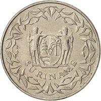 Surinam, 100 Cents, 1989, AU(55-58), Copper-nickel, KM:23