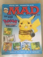 MAD TURKISH POKEMON SPECIAL 1st ED. edition MAD - 12 months PRINTED ! check all