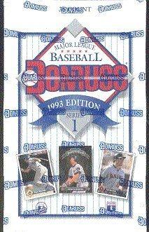 1993 Donruss Baseball Cards Series 1 Unopened Hobby Box 36 Packsbox 15 Cardspack Randomly Inserted Foil Diamond King Inserts Elite Series