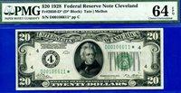 FR-2050-D* 1928 $20 FRN (( STAR )) PMG UNC 64EPQ # D00106611*.