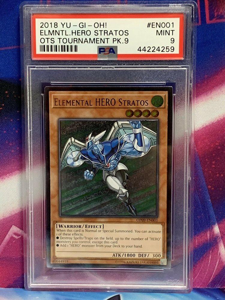 Elemental Hero Stratos OP09-EN001 Ultimate Rare