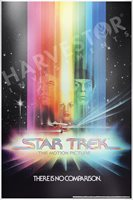 2018 STAR TREK: THE MOTION PICTURE - PREMIUM SILVER FOIL 35 GRAMS SILVER POSTER