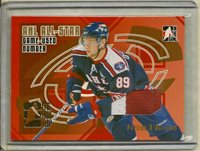 06-07 ITG BOXTOP REDEMPTION 1 of 1 PATRICK O'SULLIVAN GOLD Game-Used Number LOOK