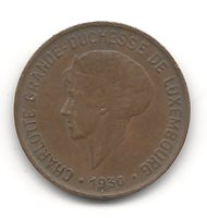 Luxembourg 10 Centimes 1930 KM 41 XF