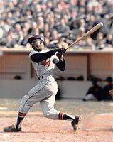 Hank Aaron unsigned 8x10 photo (Atlanta Braves) Image #1