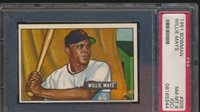 1951 Bowman WILLIE MAYS Rookie New York Giants PSA 8 oc