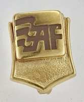 Estate 10K Yellow Gold Oklahoma American Fidelity Assurance Employee Service Pin