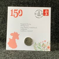 Benjamin Bunny 50p Coin, Beatrix Potter Coin Collection 2017