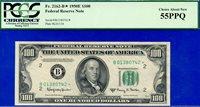 *Scarce FR-2162-B* 1950-E $100 FRN (( STAR )) PCGS About-New 55PPQ # B01380742*