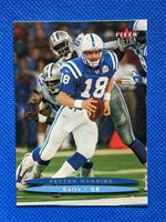 2003 Fleer Ultra Peyton Manning #58 Colts Football