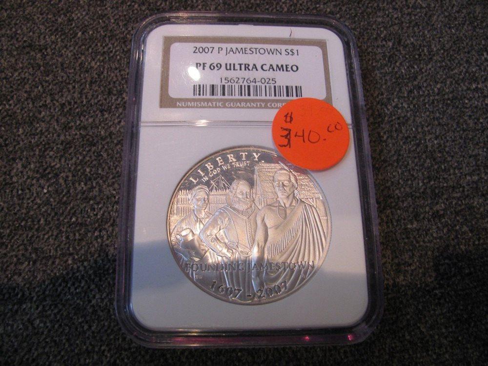 1991 S $1 USO Commemorative Silver Dollar NGC PF69 UC