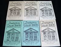 6 SKANEATELES NEW YORK SUMMER THEATRE PLAYS SOUVRNIR PROGRAMS 1937-1939 VINTAGE