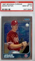 1997 Bowman Chrome PSA 10 243 Adam Eaton Phillies