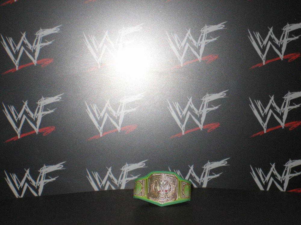 10 x Custom WWF WWE Title Belts For Hasbro Mattel Retro Wrestling Figures NXT