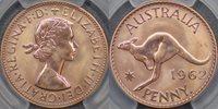 1962 Perth Proof Penny - PCGS PR65RD