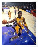 0bdbf6da45b Kobe Bryant Los Angeles Lakers Autographed 8x10 Photograph