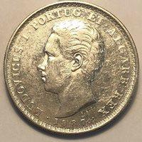 Portugal 500 Reis. 1887. KM# 509.