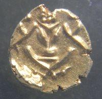 India-Mysore 1638-1662 Gold Fanam Coin PCGS MS 63