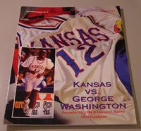 KU Jayhawk Basketball Program - George Washington Dec 11, 1996