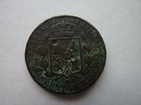 1862 Isabel II 25 Cent Real Spain Espanas (ref2a)