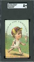 1889 Tobin Lithographs H804 Baby Talk Series Baseball Baby Bunting SGC !