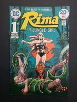 Rima the Jungle Girl #1 (1974) FN/VF 1st Rima the Jungle Girl and Space Voyagers