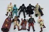 Star Wars Figure Lot (10) OB1, Lando, MAUL, SOLO, VADER- FREE FAST SHIPPING