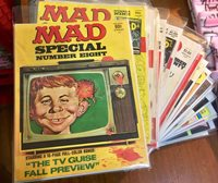 LOT OF 26 MAD MAGAZINE SPECIALS. 70's to the 90's
