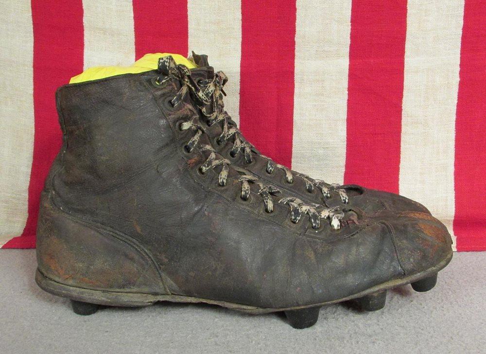 Vintage 1940s Spot Bilt Black Leather