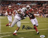 JK DOBBINS SIGNED AUTOGRAPHED OHIO STATE BUCKEYES FOOTBALL 8X10 PHOTO  PSA DNA 4402681e9