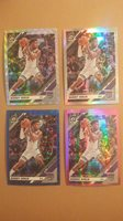 2019-20 Optic 4 card lot Buddy Hield Silver Holo, Silver Wave, Pink, + Velocity