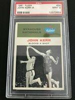 1961 Fleer John Kerr IA PSA 9 56 Nationals