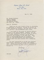 JAMES JIM LOVELL Autographed Signed Typed Letter Apollo 13 Astronaut Moon Lunar