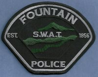 FOUNTAIN COLORADO S.W.A.T POLICE PATCH